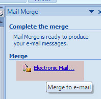 Complete Mail Merge